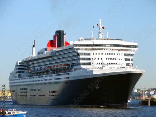 Queen Mary 2 in Hamburg(2)