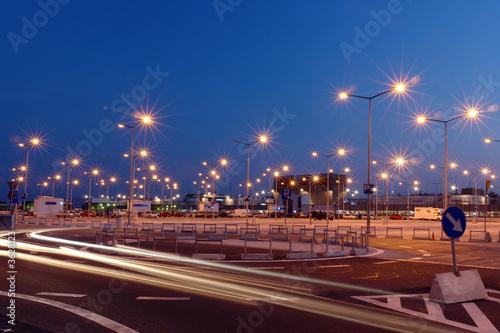 Parking lot lights - 3628123