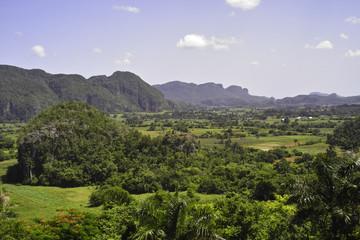 Bergige Landschaft