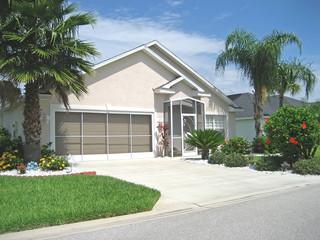 Upscale Florida rancher home.