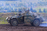 sdkfz 222 german historic ww2 armored vehicle poster