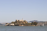 Alcatraz from distance poster