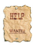 Help wanted poster