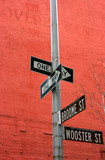 Street signs in Soho, Manhattan, New York - 3633961