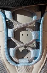 lacing at the new skating boot