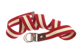 Belt for clothes on a white background poster