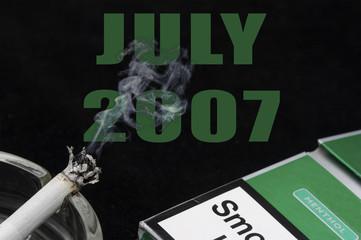 Smoking ban july 2007