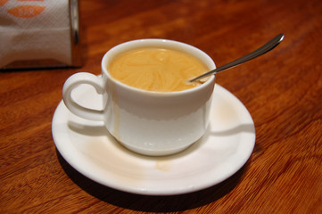 Coffee whit Milk Cup