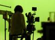 Cameraman Against a Greenscreen - 3645750