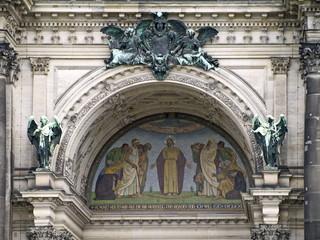 mosaik bild am berliner dom