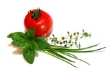 Tomate Kräuter