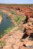 Blick in eine Gorge Australien_07_1248 poster