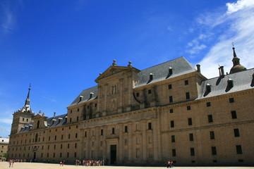 esplanada este del Monasterio del Escorial