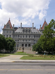 New York State Capitol in Albany, New York