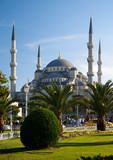 sultan Ahmed mosque in Istanbul, Turkey