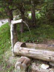 1397 - Fontaine dans le Queyras (Alpes)