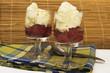 Two Raspberry desserts