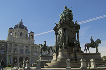 Maria Theresa Square Vienna