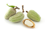 Fototapety Fresh almonds