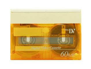 Mini DV video cassette