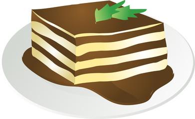 Tiramisu illustration