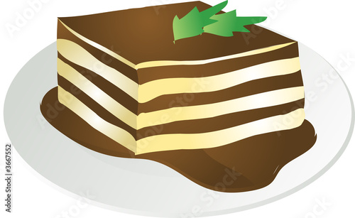 Tiramisu illustration