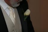 tie, shirt, vest, coat, boutinerre, tux poster