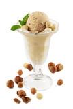 Hazelnut ice cream poster