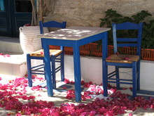 Typical greek colours