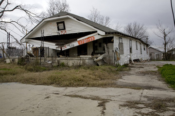 Ninth Ward of New Orleans Post Katrina