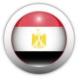 Egypt Flag Aqua Button poster
