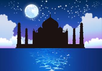 Taj Mahal - Moon & Stars