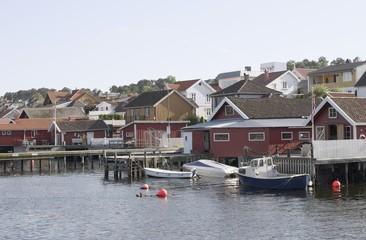 Coastal town