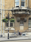 Bicycle at Oxford University poster