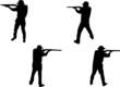 riflemen silhouettes