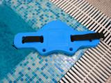 Blue belt for aqua aerobics  poster