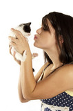 Kissing the Kitty poster