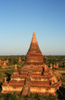 Ancient stupas and payas in Bagan (Myanmar)