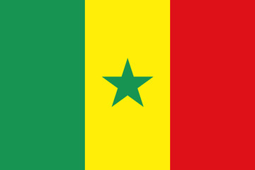 Flag - Senegal