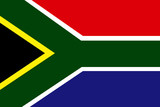 Flag - South Africa poster