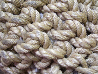 A bundle of rope