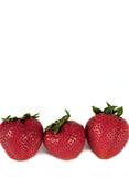Three Whole Yummy Strawberries poster