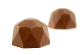 Delicious handmade polygon or poly sided chocolate. poster