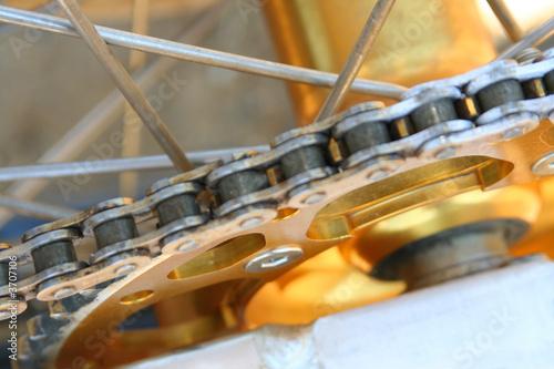 Poster Motocross Bike - Details (the wheel)