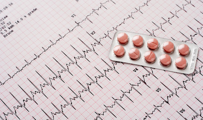 Heart pills over EKG results