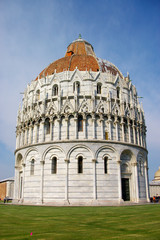 medieval cathedral in Pisa