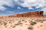 USA. Nevada. Valley Of Fire State Park. poster