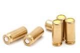 series object on white - Hunter, ammunition belt poster