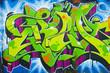Leinwandbild Motiv Graffiti 005
