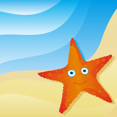 cute little starfish